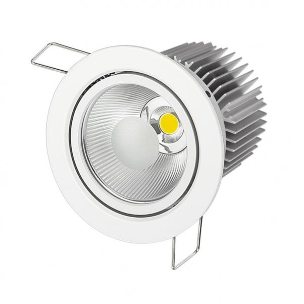 COB LED Down, COB conduit luminaires, COB fabricant dans la lumière, COB usine dans la lumière, la lumière COB de plafond