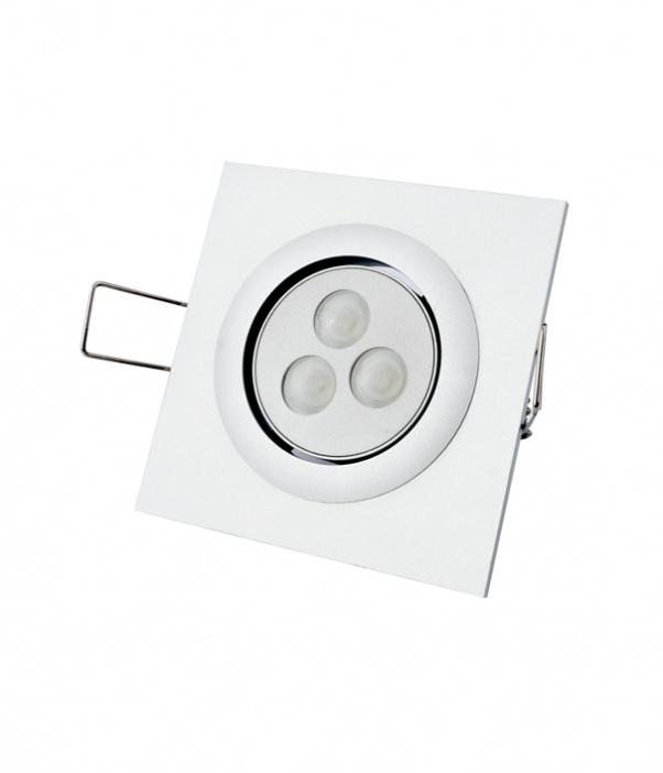 Bas de lumière, Trois têtes vers le bas de lumière, LED grille dans la lumière, Grille lumière vers le bas, double tête baissée lumière