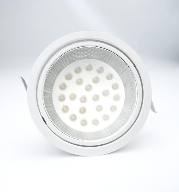 angle de faisceau d'inondation, propre lumière avec alimentation intégrée, panneau lumineux rond, faisceau large angle de angleam