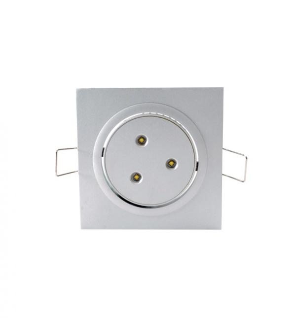 Trois têtes vers le bas la lumière, LED grille vers le bas la lumière, la grille en bas des lumières, LED grille dans la lumière, Grille bas usine de lumière