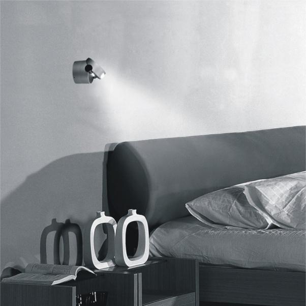 Led mur, lampe de chevet, Led Hôtel Light Project, Led mural Lumière, Lampe LED mur