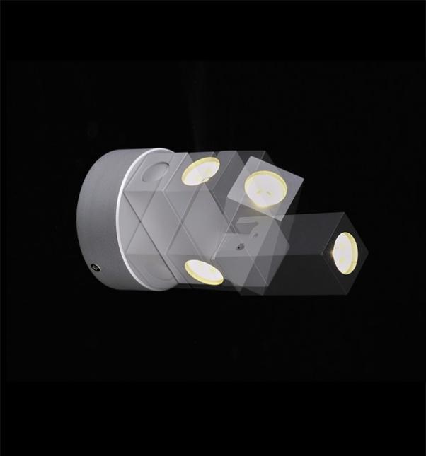Applique murale LED, lampe de chevet, Lampe LED mur, Led mural Lumière, Led mur d'éclairage