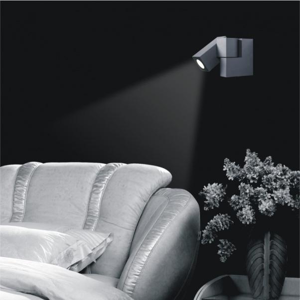 Lampe LED mur, mur LED, chevet droit Applique de chevet gauche Applique, Led Goose Neck Light Reading