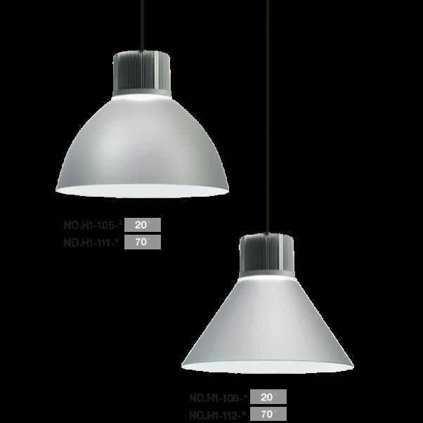 lumière de l'atelier, les feux industriels, la lumière de l'entrepôt, hautes lumières vitrées, éclairage LED haute baie