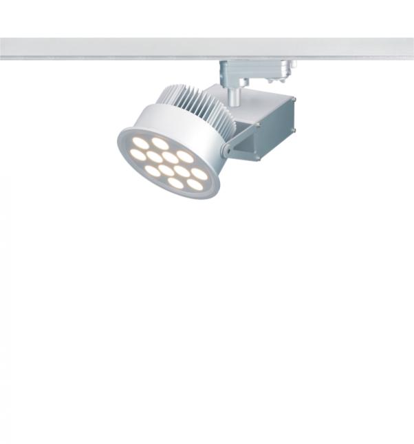 Rail d'éclairage à haute tension, feux de piste à haute tension, Led feux de piste à haute tension, circuit unique piste haute tension lumière, 3-circuit haute tension piste lumière