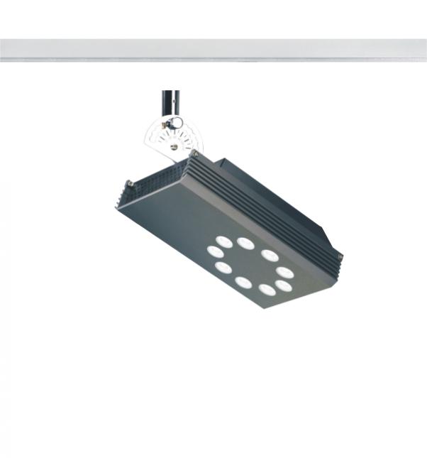 Feux de piste à haute tension, feux de piste à haute tension LED, circuit unique piste haute tension lumière, 3 circuits haute tension lumière, lumière piste, Lustre