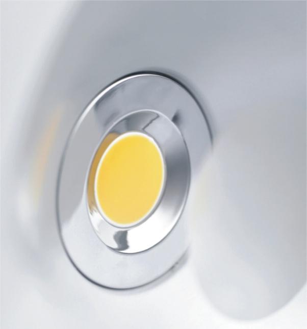 COB Down Light, Super valeur dans la lumière, lumière en aluminium vers le bas, de lumière en plastique vers le bas, conduit de lumière spot