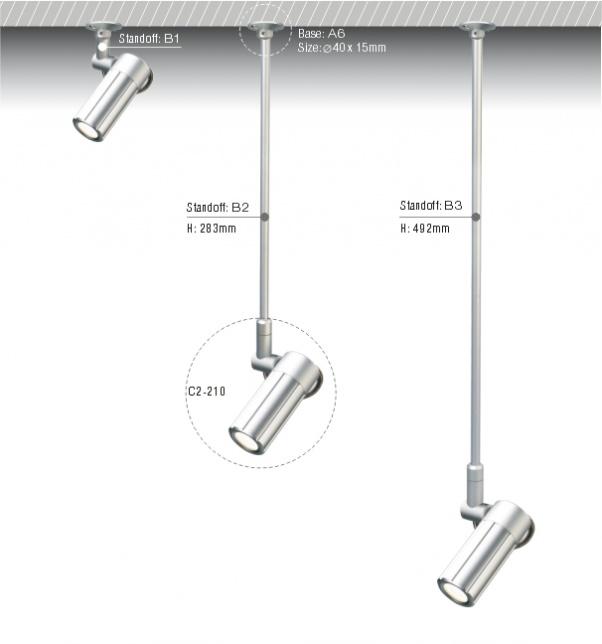 Plafond LED, COB bas de la lumière, COB plafonnier, lumière de la COB, COB bas lumières