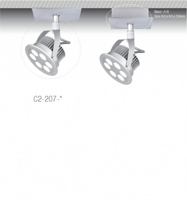 COB LED s'allument vers le bas, COB plafonnier, lumière de la COB, COB en bas des lumières, COB LED Down, COB conduit luminaires