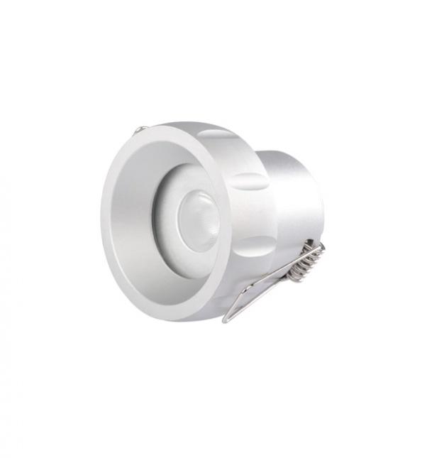 Usine de spot LED, la lumière au plafond, la lumière vers le bas, spot s'allume fabrication, repérer dans la lumière