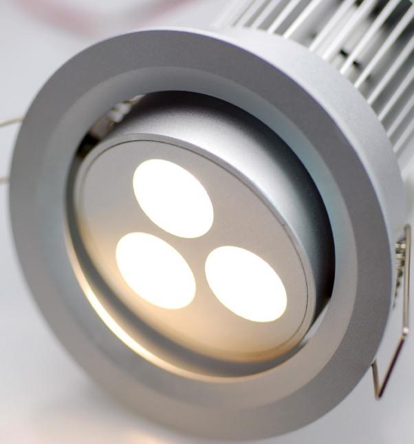 Usine de spot LED, usine de Spot, Spot allume la production, des spots LED, repérer dans la lumière