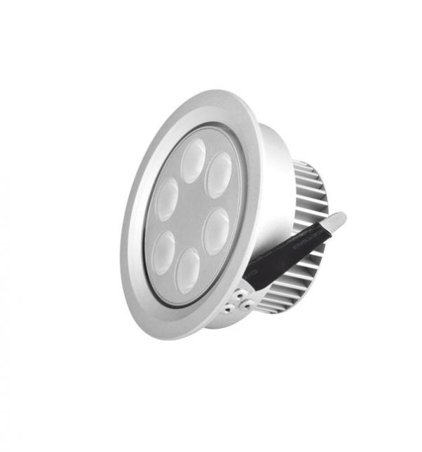 Repérer dans la lumière, spots à LED, la lumière au plafond, spot éclaire la fabrication, l'usine de Spot
