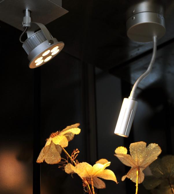 anti-éblouissement descendait la lumière, COB SHARP descendait la lumière, CREE COB descendait, lumière, OSRAM LED Down