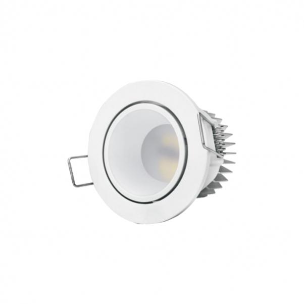 Angle de rayonnement, propre éclairage avec alimentation intégrée, éclairage de panneau rond, angle de faisceau large